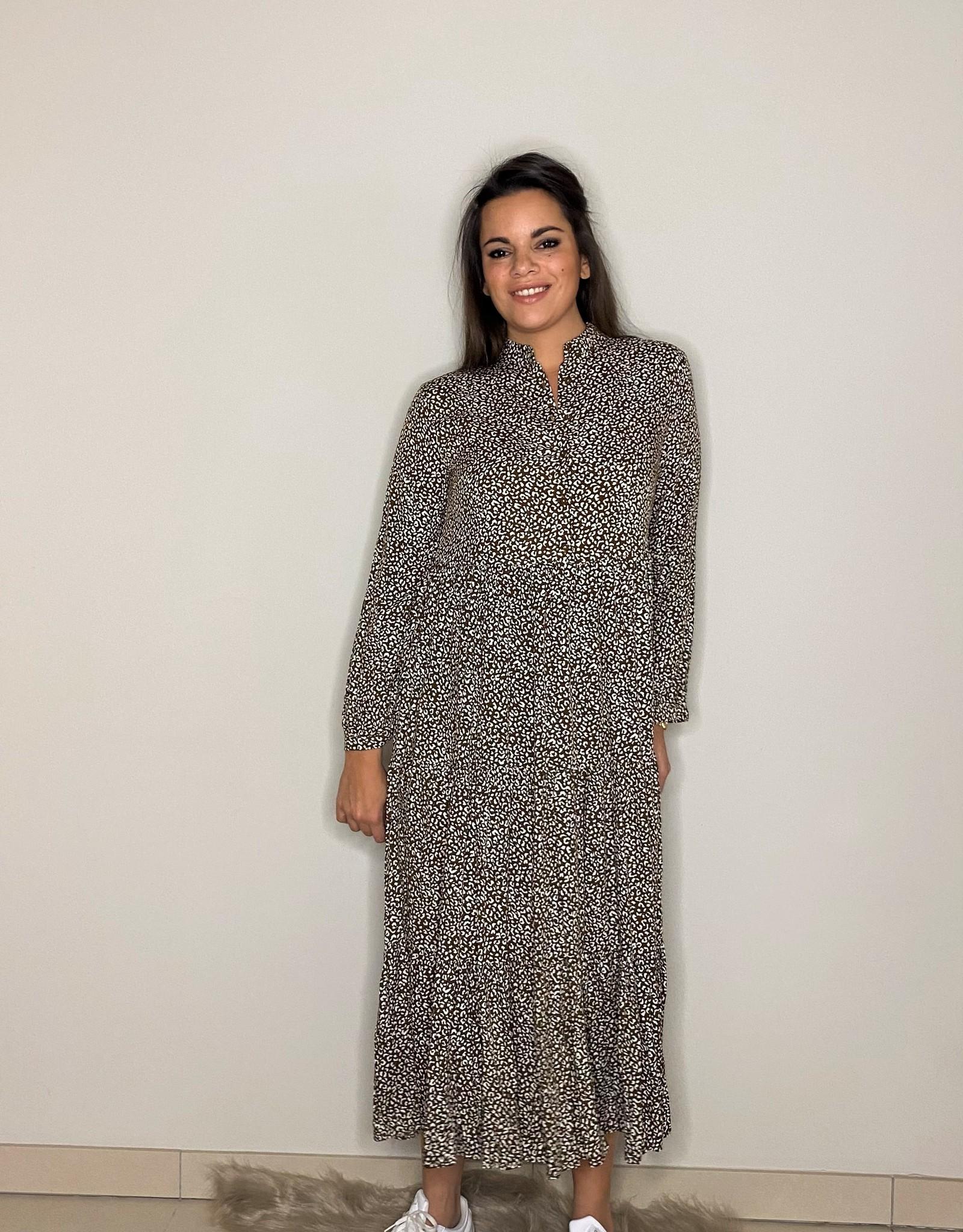 Maxi dress - leopard