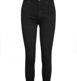 Push up  jeans - zwart