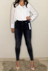 Skinny jeans - grey