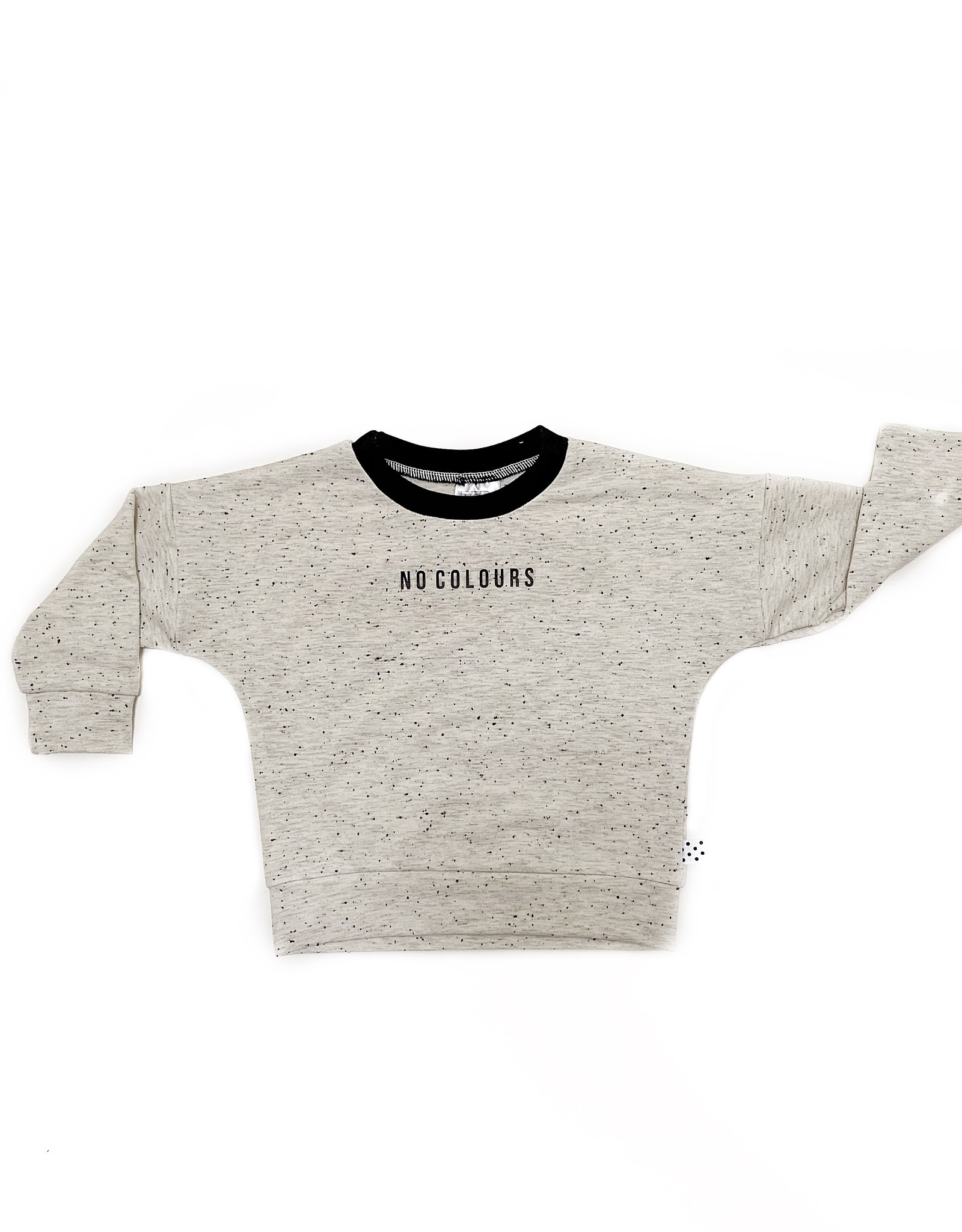 No Colours Off white sprinkles sweater