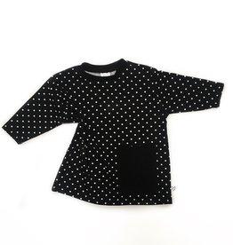 No Colours Dots oversized pocket dress