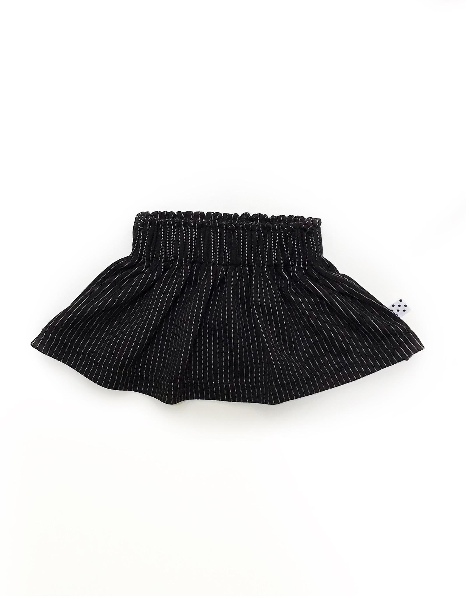 No Colours Pinstripe skirt