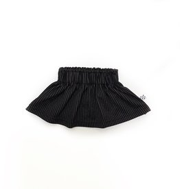 No Colours Pinstripe skirt