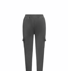 Satijnen jogger - grey