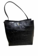 Handtas - black croco