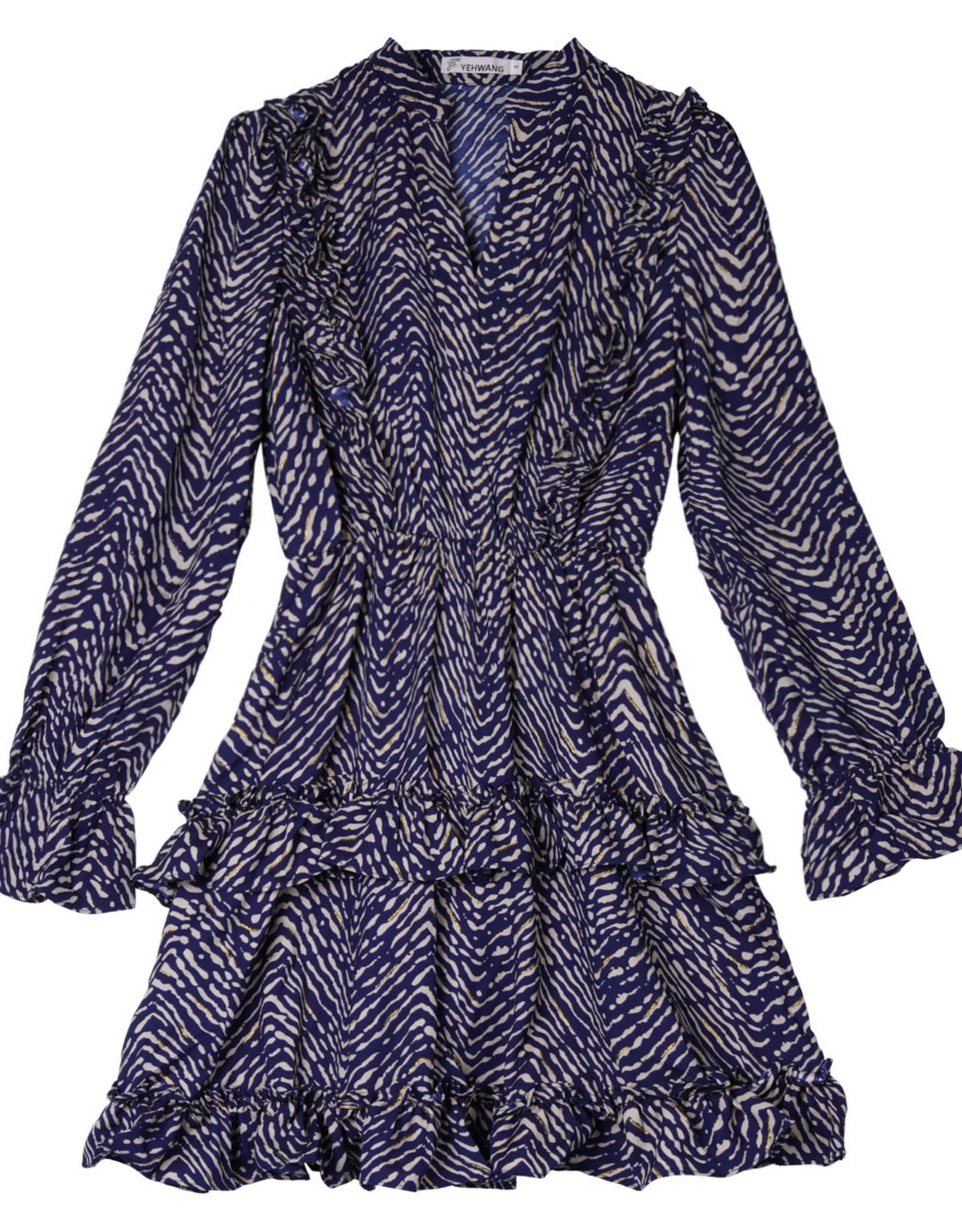 Dress - blue stripes