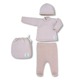 Newborn gift set - pink stripes