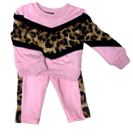 Set - pink leo