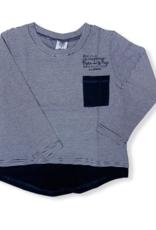 T-Shirt - navy stripes