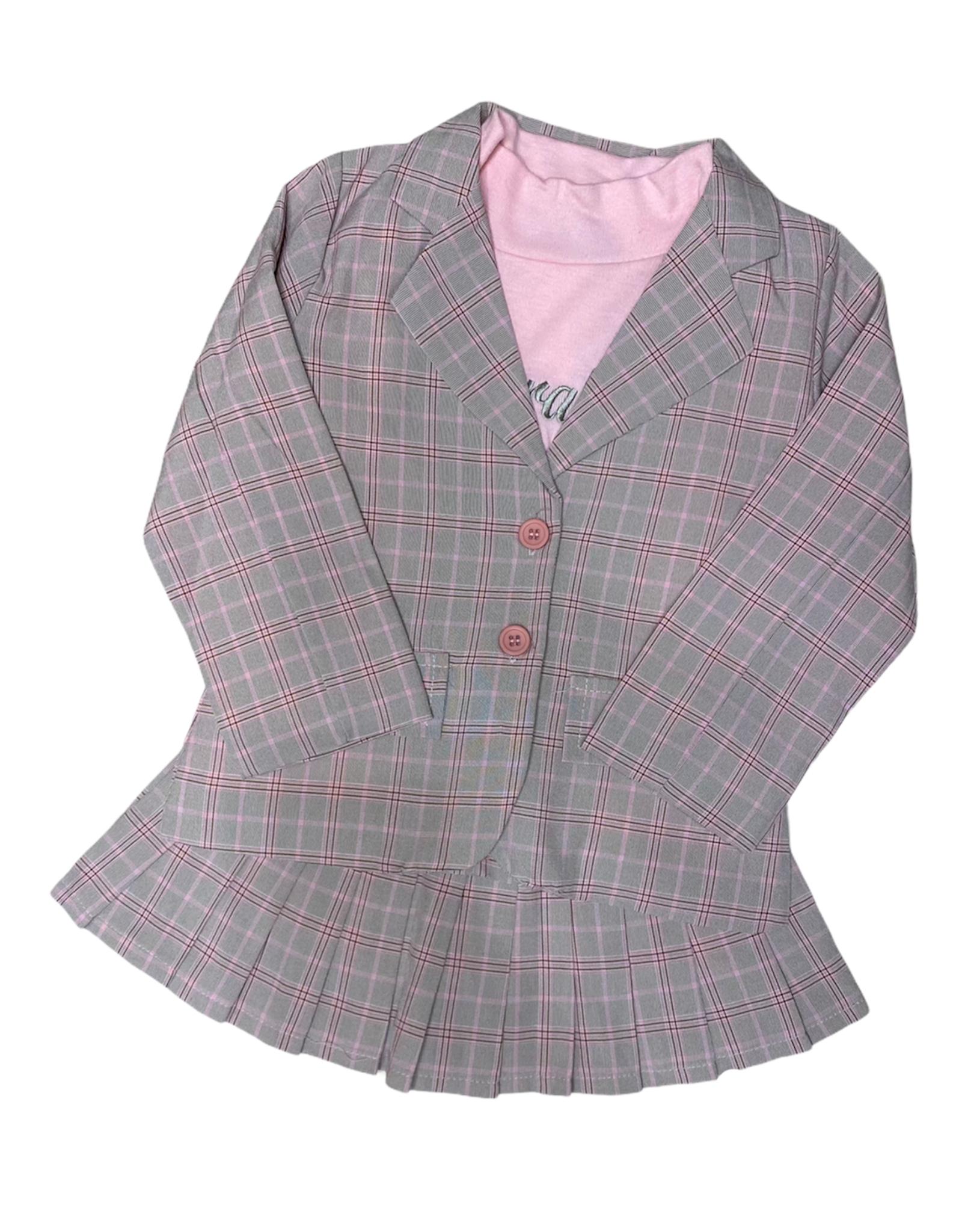 Blazer set - pink