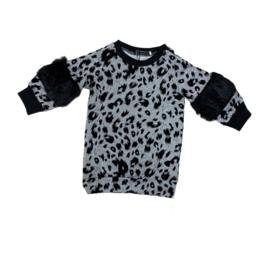 Kleedje - furry black