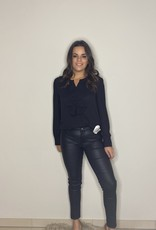 Skinny jeans - leather look