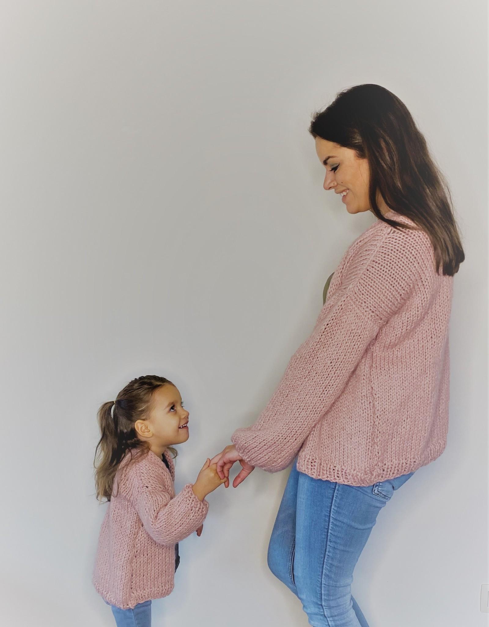 Voor Pateekes Cozy Bernadette meisje roze