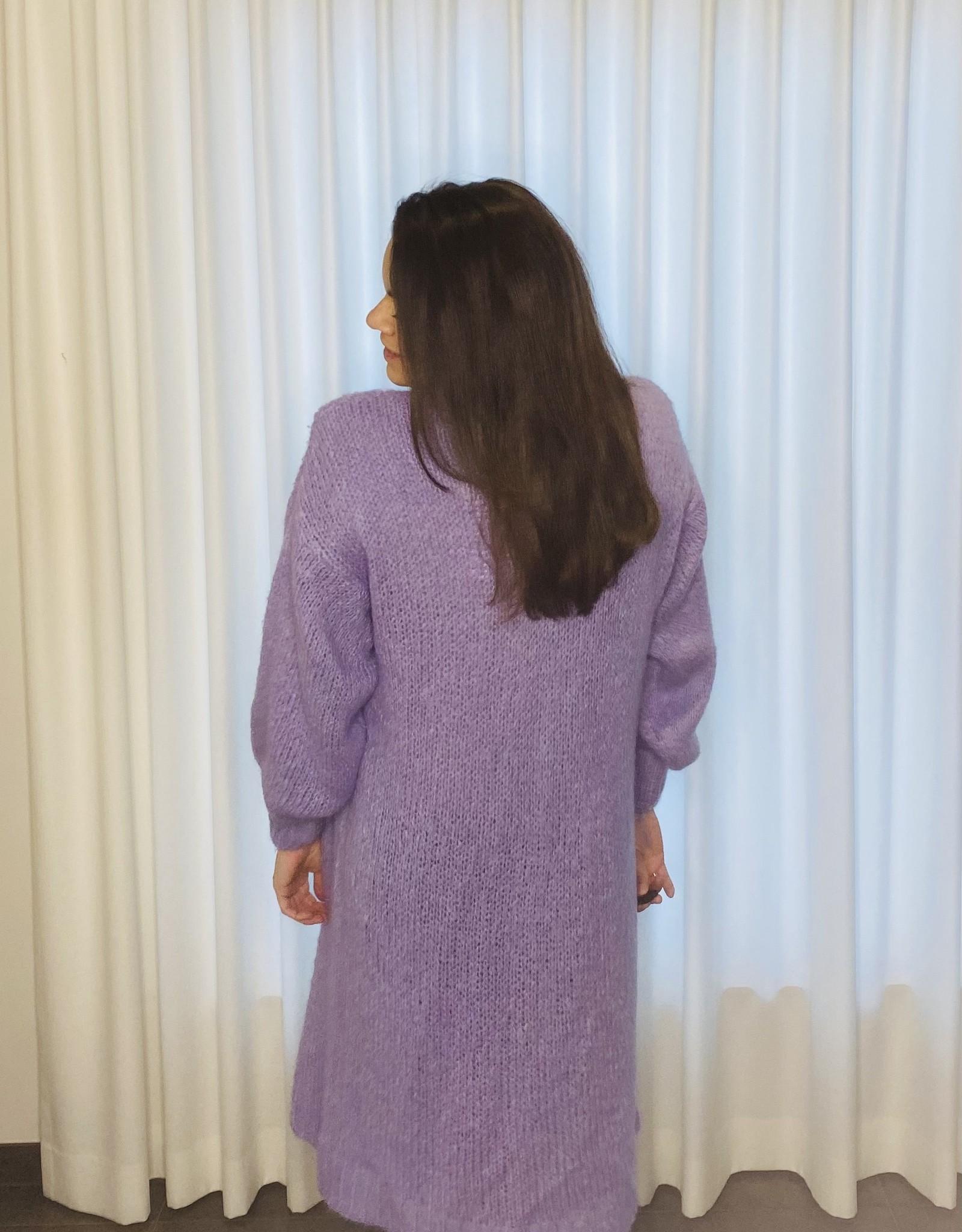 Oversized vest - lavendel