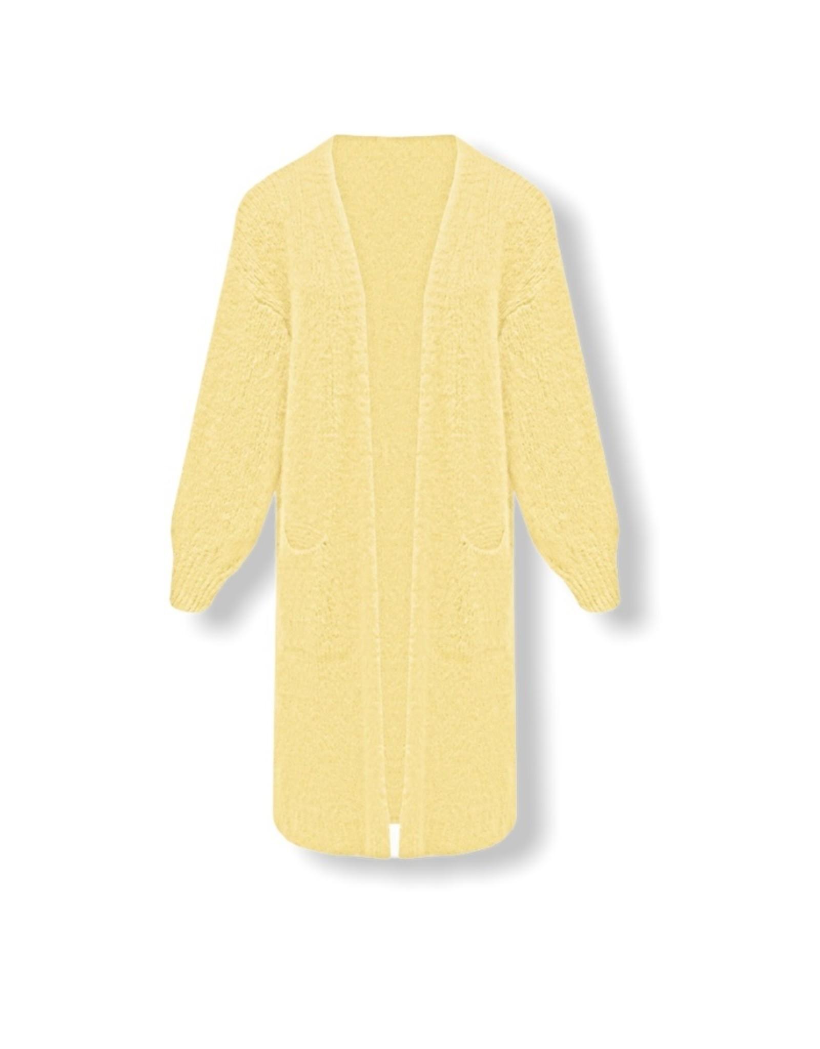 Oversized vest - geel