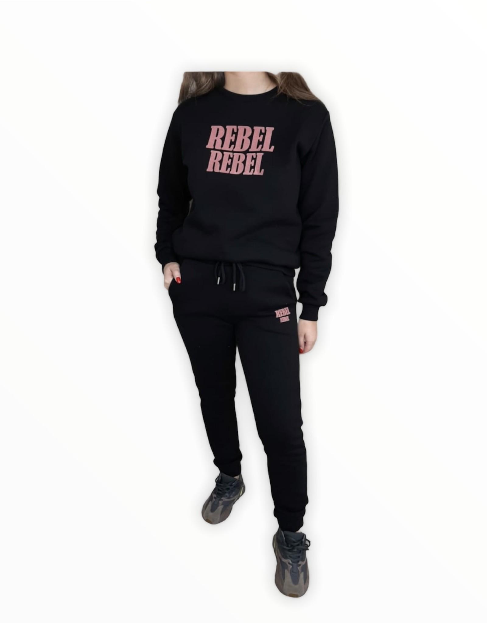 Set rebel zwart