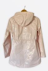 NEW Shimmer raincoat pink