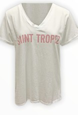 Tshirt Saint Tropez - pink