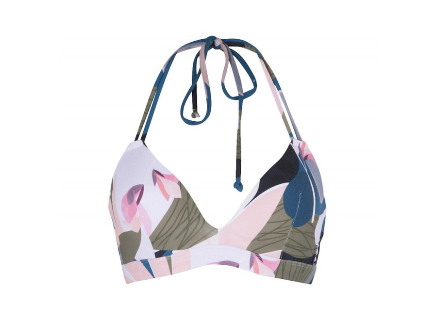 Moulded Triangle Bra Print