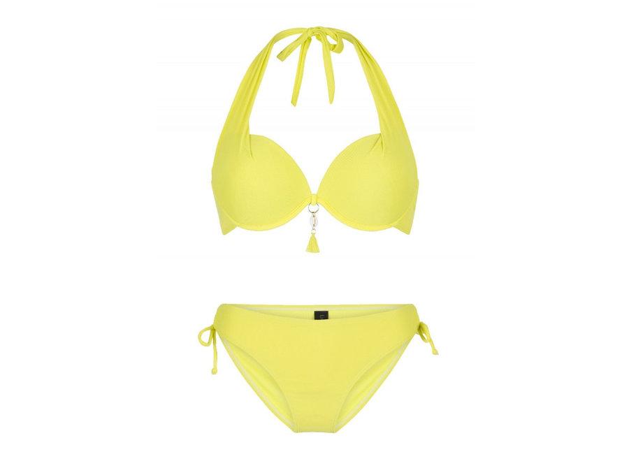 Zia Halterneck Bikini Set Limonata Yellow