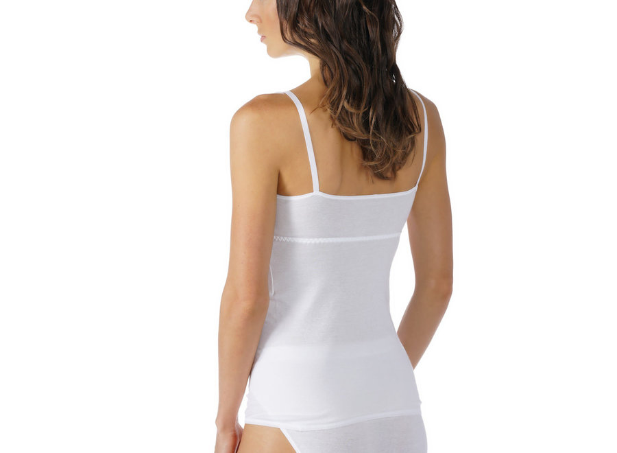 Noblesse Bra Shirt Without Underwire White