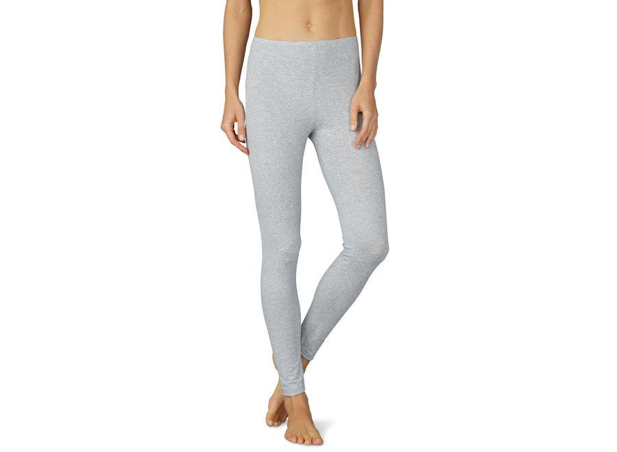 Cotton Pure Leggings Grau Melange