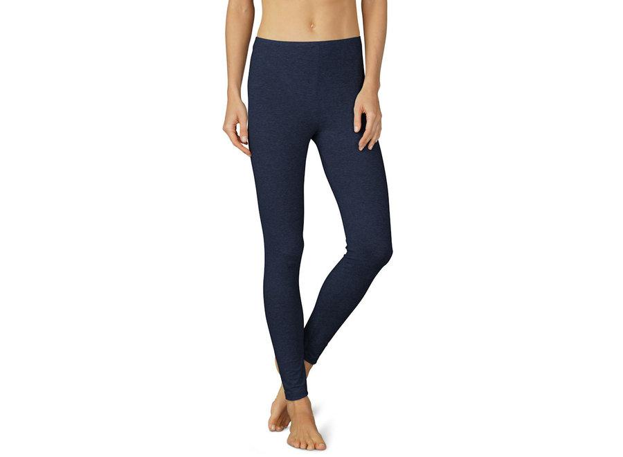 Cotton Pure Leggings Night Blue