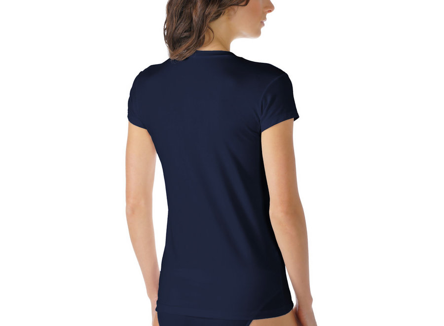 Cotton Pure T-Shirt Night Blue