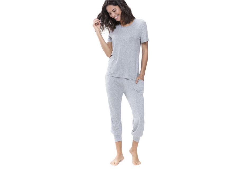 Sleepy & Easy Shirt Hellgrau Melange