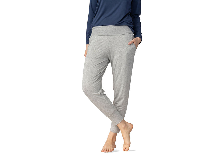 Sleepy & Easy Yogapants Hellgrau Melange