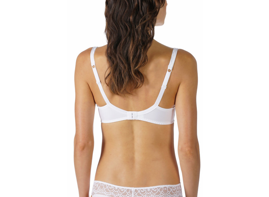 Amorous Spacer Bra Full Cup White