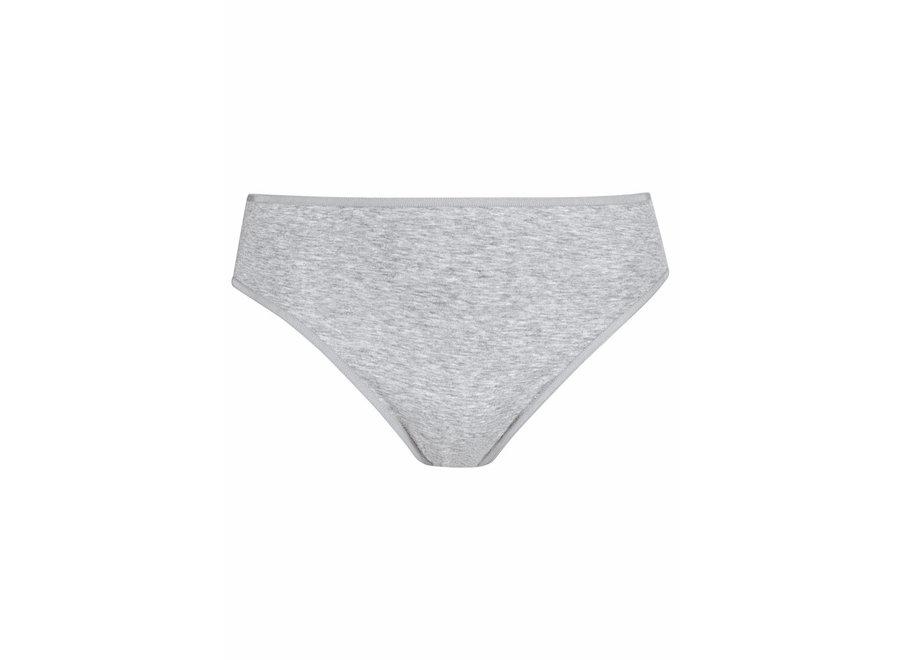Cotton Pure Jazz Pants Grau Melange