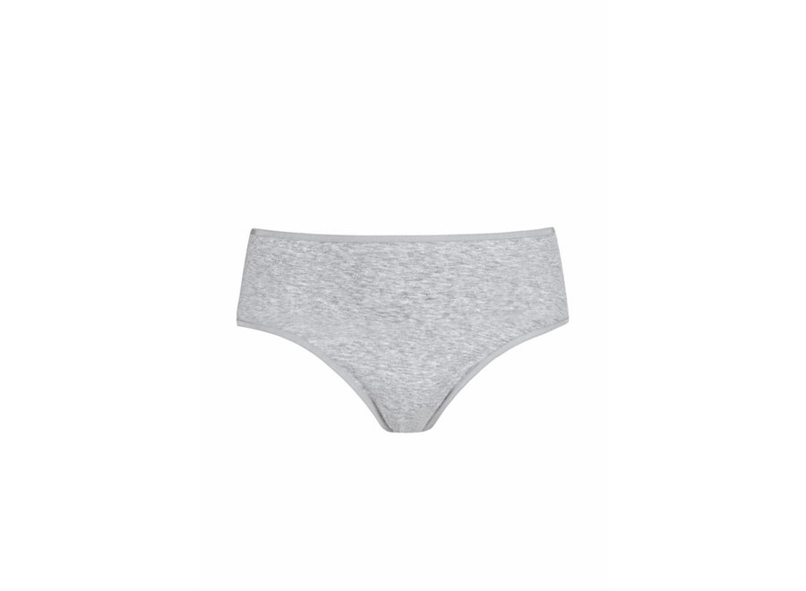 Cotton Pure Hipster Grau Melange