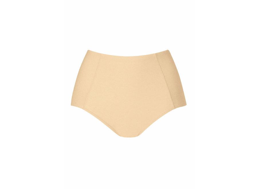 Nova High Waist Pants Cream Tan