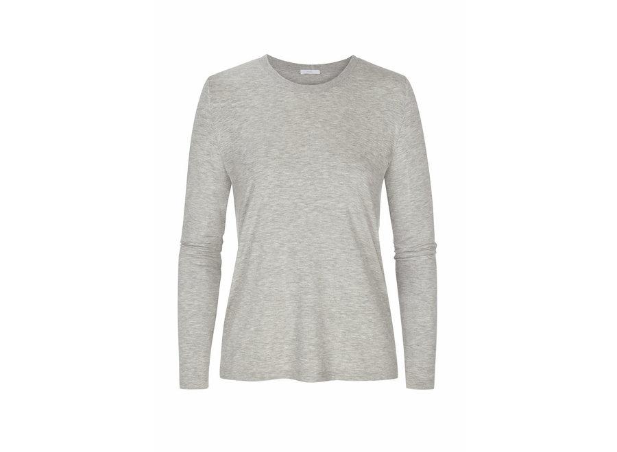Sleepy & Easy Long Shirt Hellgrau Melange