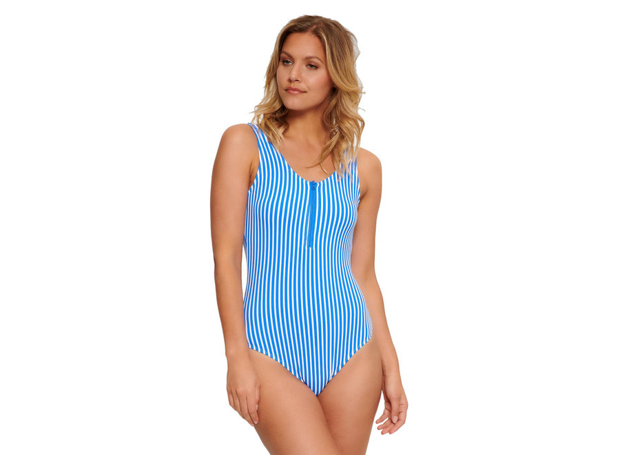 Bossa Swimsuit Stripes Print