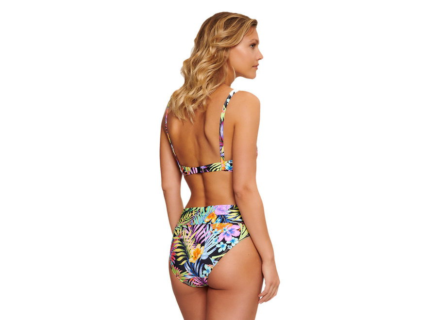 Simo Briefs With Cover Flower Print