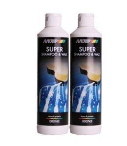 Motip Super Shampoo & Wax 500 ml