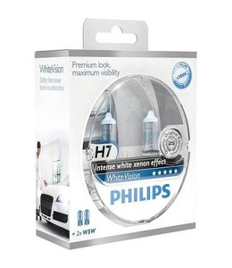 Philips H7 Whitevision Set