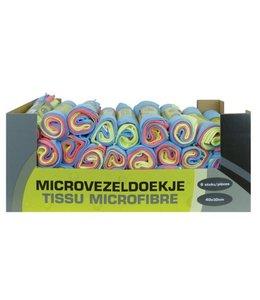 Merkloos Microvezeldoeken 6 stuks op rol