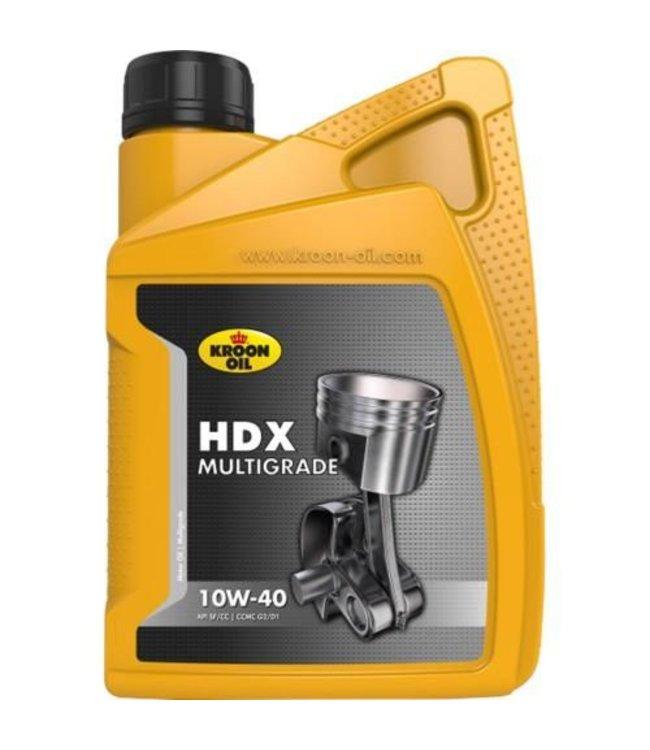 Kroon Oil HDX Multigrade 10W40