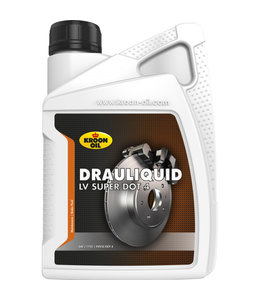 Kroon Oil Remvloeistof Dot 4 Drauliquid LV Super 1L