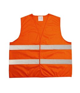 Merkloos Veiligheidsvest oranje