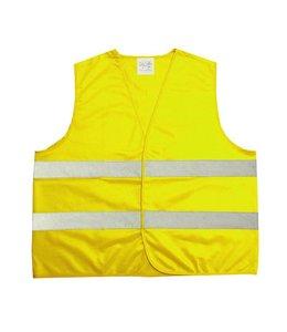 Merkloos Veiligheidsvest geel voor kinderen