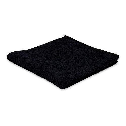 Huismerk Microvezeldoek zwart 300GR
