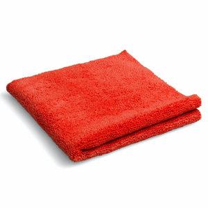 Huismerk Microvezel poetsdoek rood
