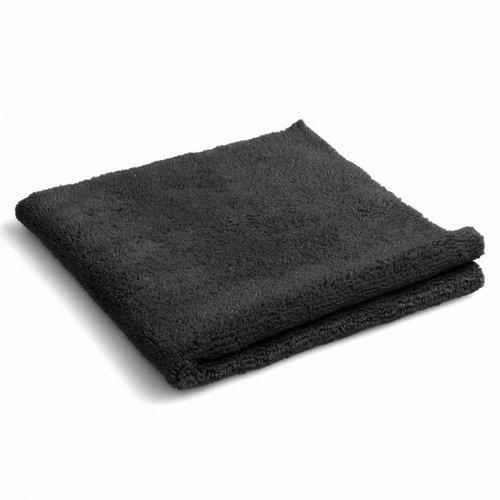 Huismerk Microvezel poetsdoek zwart