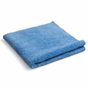 Huismerk Microvezel poetsdoek blauw