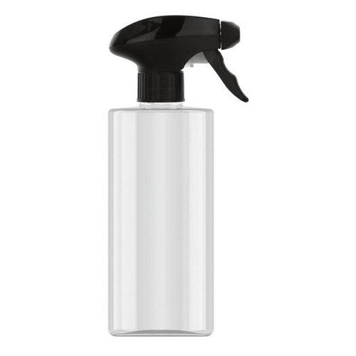 Huismerk 500ML fles glashelder met trigger sprayer