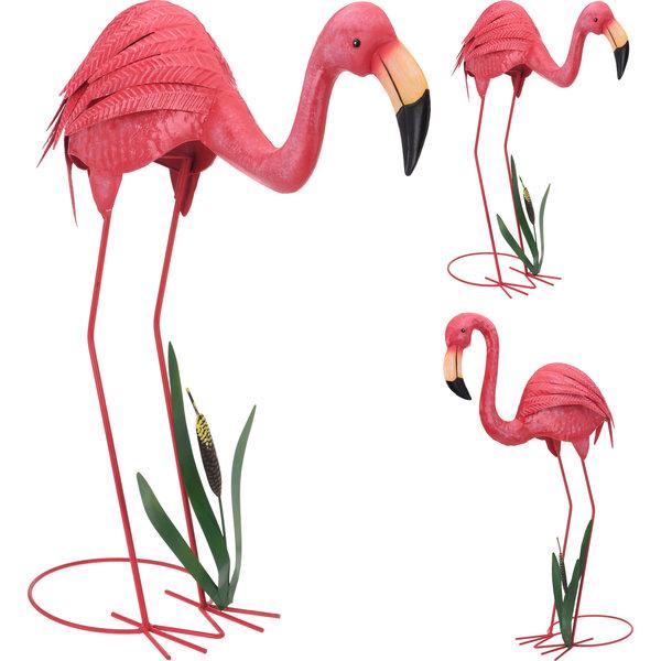 Set van 2 flamingo's